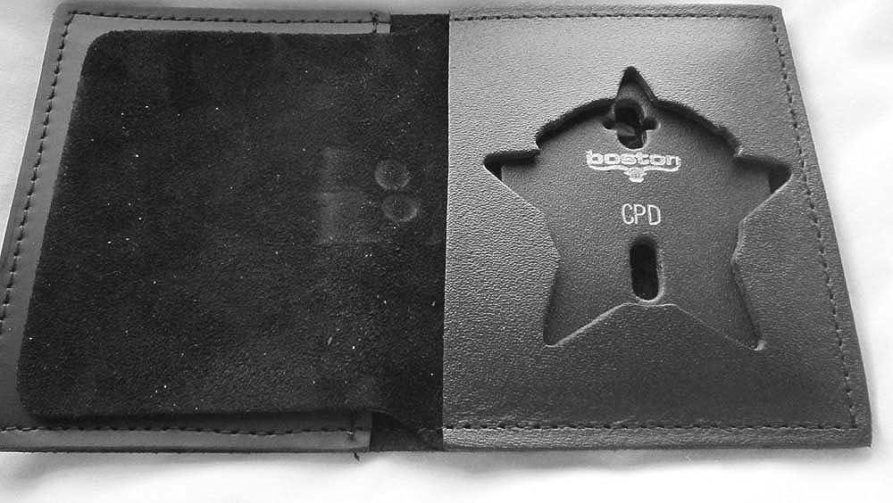 Boston Leather ACCESSORY メンズ US サイズ: Large カラー: ブラック B07BBW8SHM