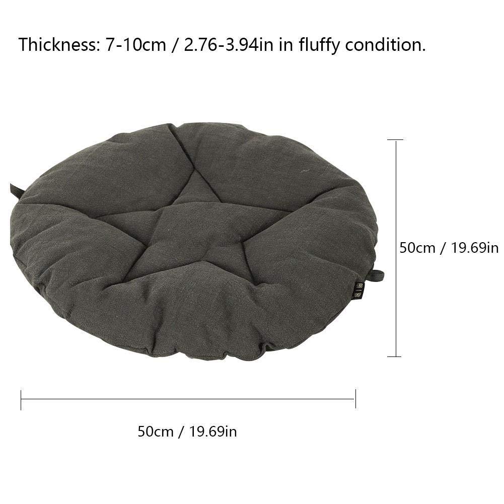 Amazon Com Window Pick Pentagram Tatami Ramie Cushion Round Patio