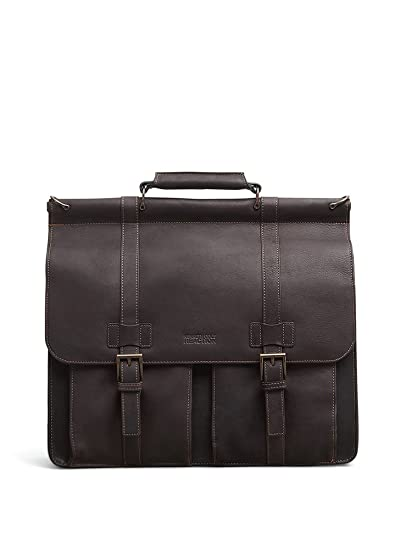 01033788c32b Kenneth Cole Reaction Colombian Leather Dual Compartment Flapover 15