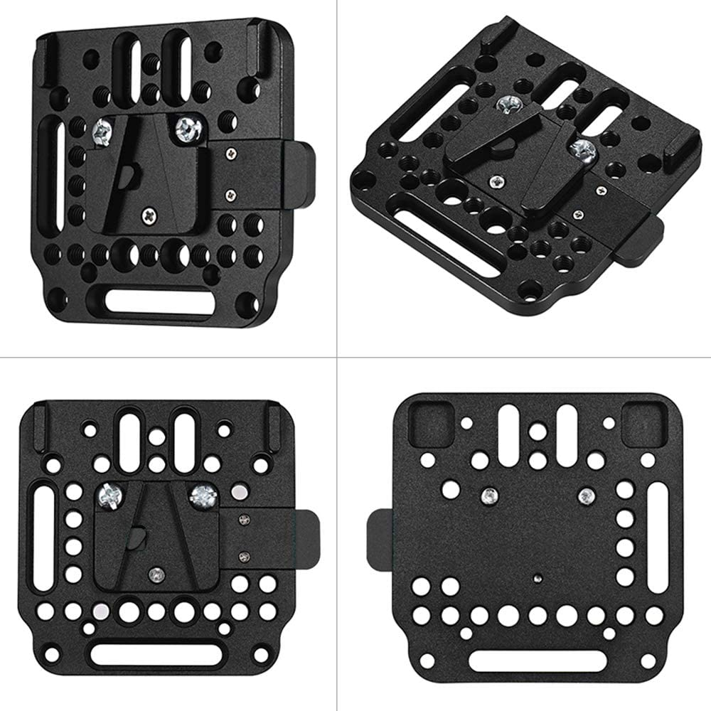Fomito V mount Battery Plate V-Lock Quick Release Plate Assembly Kit