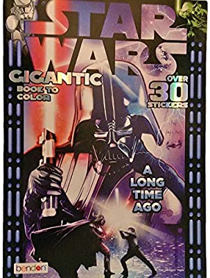 Star Wars A Long Time Ago Gigantic Coloring Book to Color Over 200 Pages & 30 Stickers