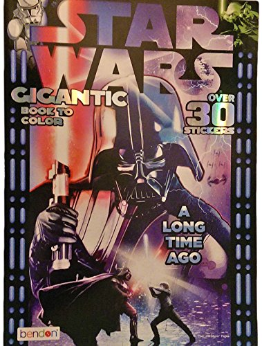 Star Wars A Long Time Ago Gigantic Coloring