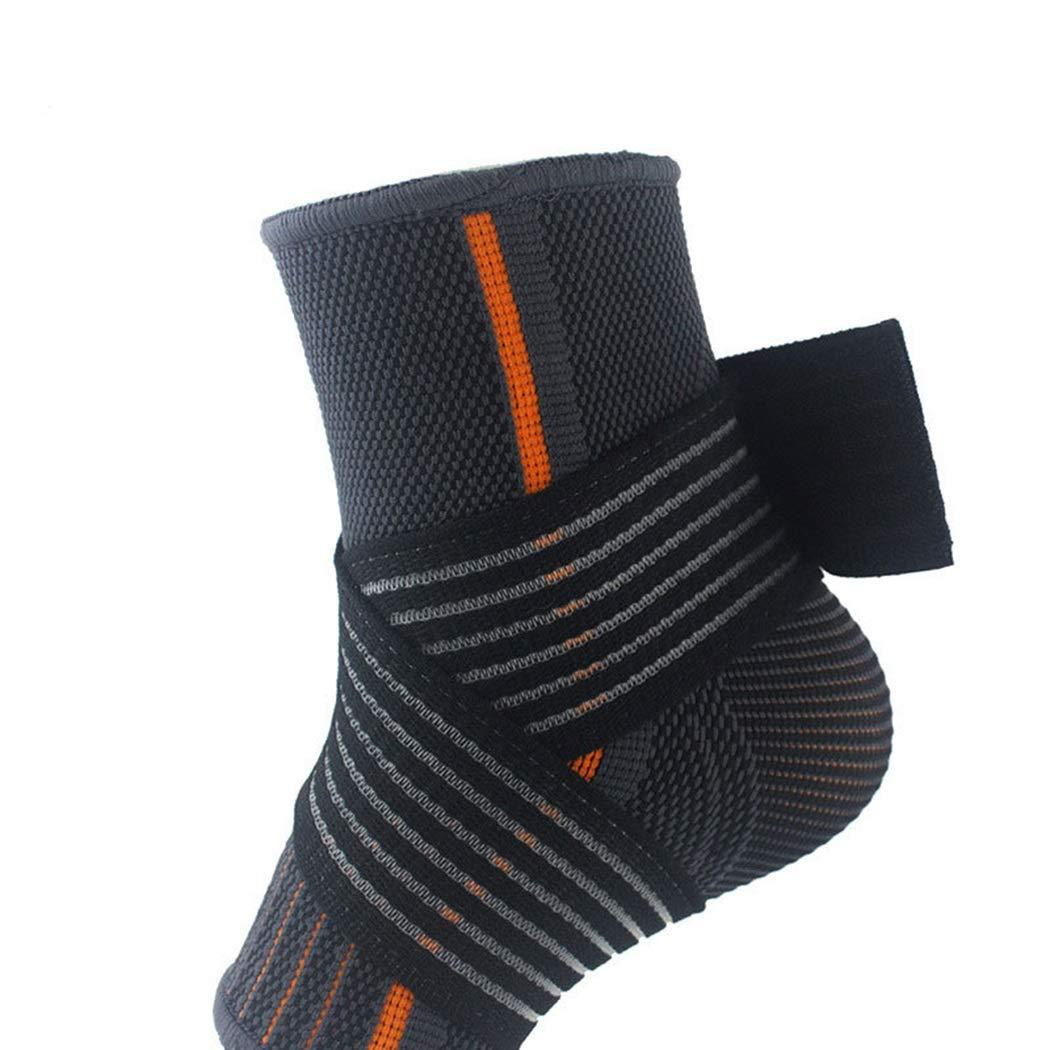 HUIFEI Schutzfußsport Schutzkleidung Umwickelt Strick-Knöchel Sportbekleidung Schutzkleidung