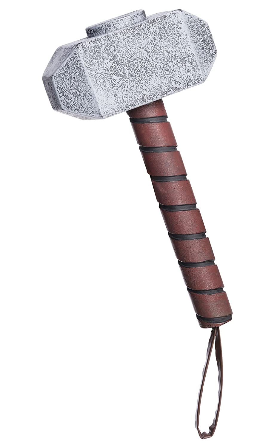 Marvel Rubie's Costume Men's Universe Thor Hammer Costume Accessory Multi One Size Rubies Costumes - Apparel 35669