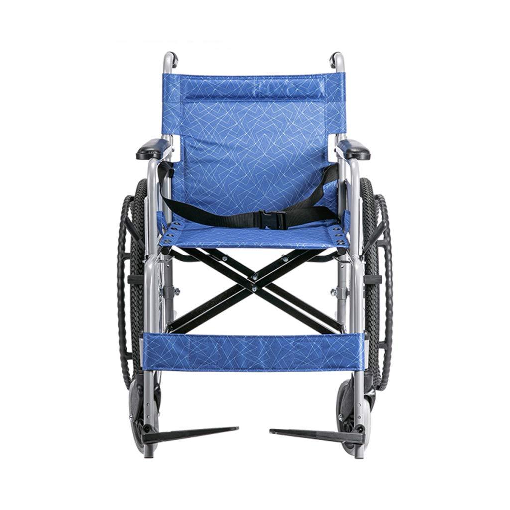 最新人気 HSBAIS HSBAIS 自走用車いす、折りたたみ式軽量持ち運びに便利、椅子の座席幅17インチ,Blue B07NM8VLHS Blue Blue B07NM8VLHS, よろずや倉庫:7d1ae267 --- a0267596.xsph.ru