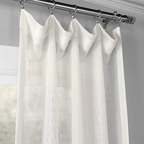 Best window curtain panel: HPD Half Price Drapes SHCH-VOL3-120-DLSW Signature Double Layered Sheer Curtain 1 Panel