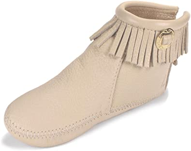 Itasca Moccasin Womens Trimbelle Bone Moccasin ...