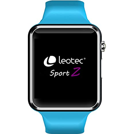 Leotec LESW06B Smart Watch Armbanduhr: Amazon.es: Deportes y aire ...