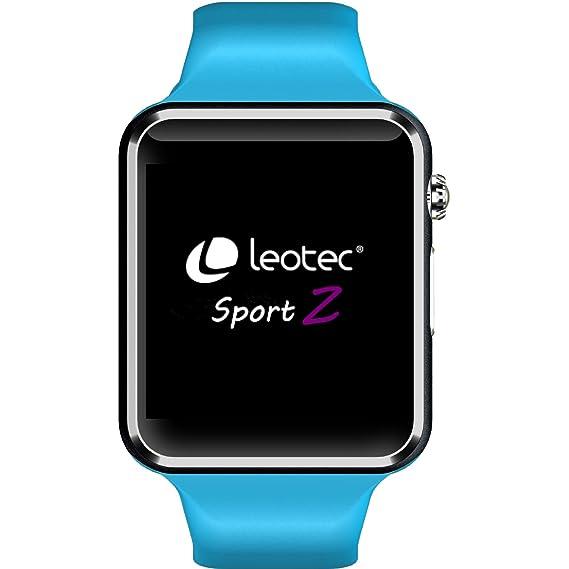 Leotec LESW06B Smart Watch Armbanduhr: Amazon.es: Deportes y aire ...