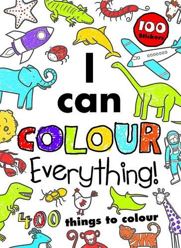 Download I Can Colour Everything!: 400 Things to Colour PDF