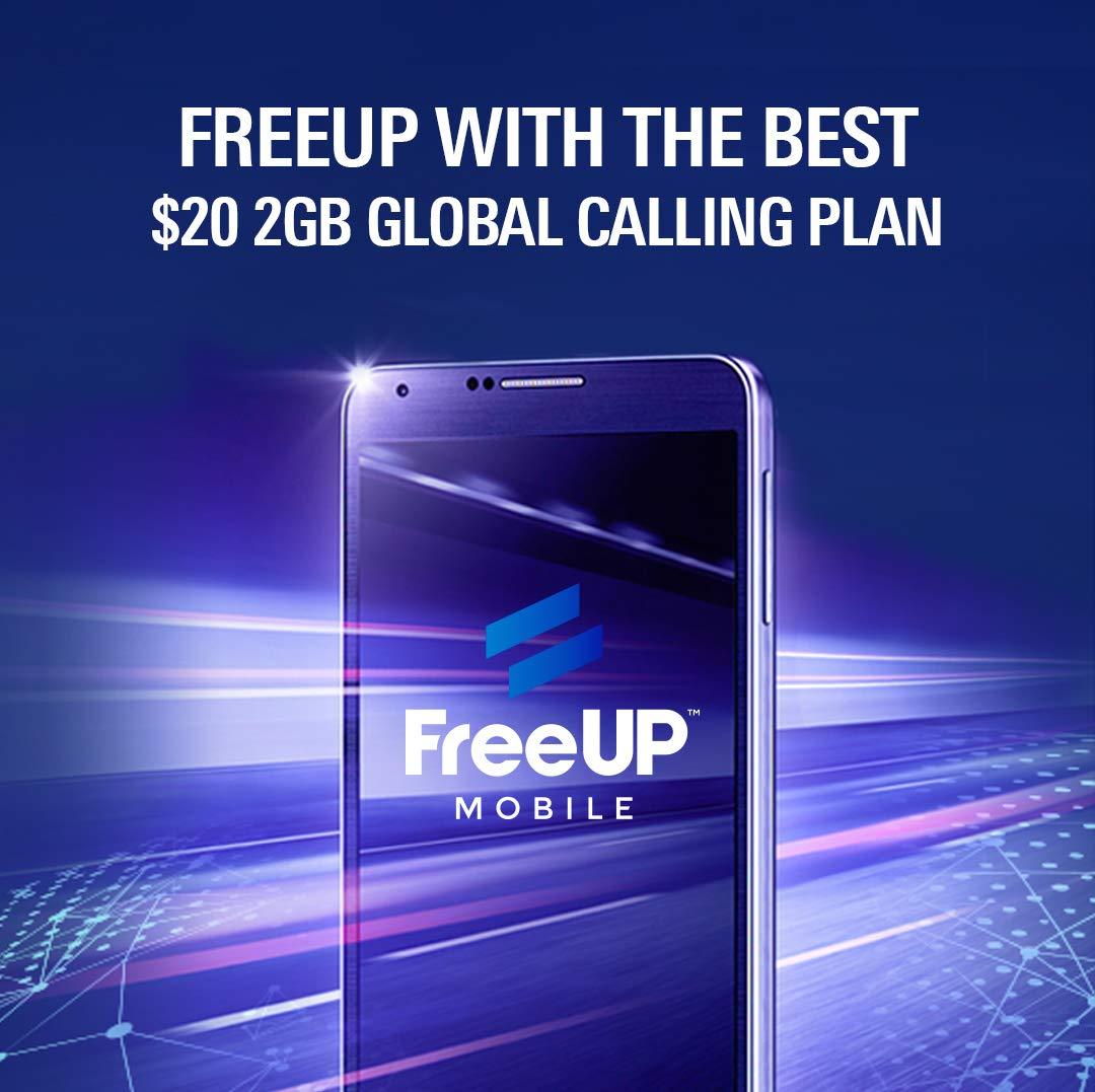 Amazon.com: freeup móvil tarjeta SIM 3 in1 – Blazing rápido ...