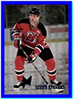 1995-96 Metal Iron Warriors #12 Scott Stevens NEW JERSEY DEVILS