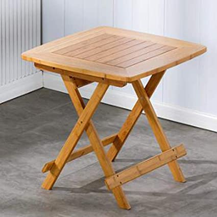 How to Make a Homemade Wooden Folding Table