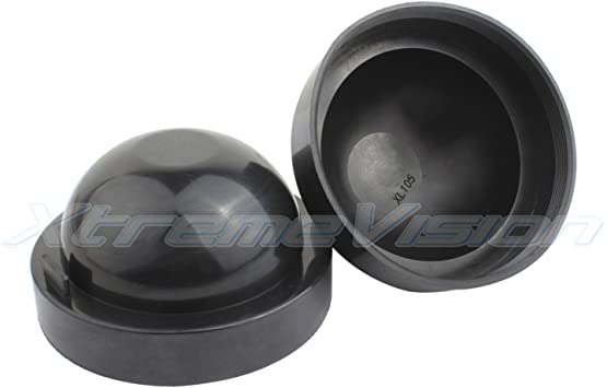 105MM 2pcs Seal Cap Dust Cover for Car Headlight Fog Lamp LED HID prevent dust