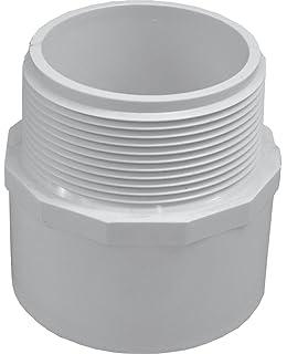 Canplas 192756 PVC DWV Flush Bushing White 4 x 3-Inch