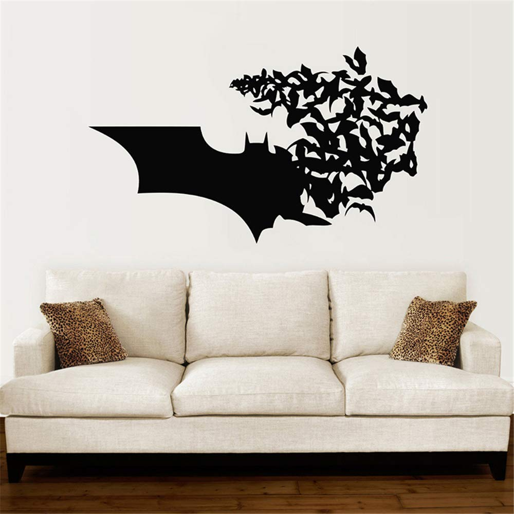 pegatinas de pared tortugas ninja Batman Logo Bat Comics ...