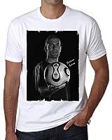 Zinedine Zidane T-shirt,cadeau,Homme,Blanc,t shirt homme