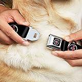 Nissan Dog Collar DAA-Datsun Grill Emblem Logo Full Color Black Silver Blue Red - Pet Collar