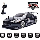 HSP 1:10 Scale Large RC Car 35+ kmh Speed Remote Control Car 4WD Electric Power On Road Drift Racing Car 94123…