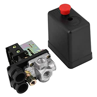 soarup Presostato de Control de Presión del compresor de aire, 240 V 16 A presión