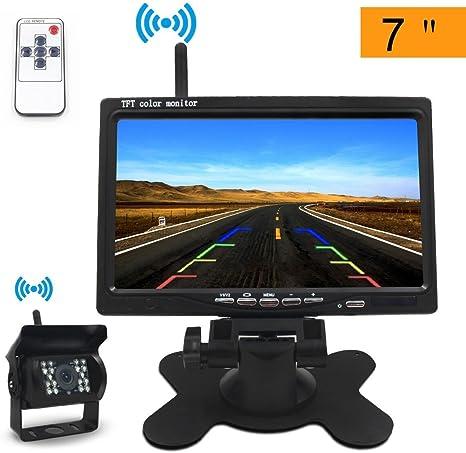 Rückfahrkamera mit 4.3/'/' LCD Monitor Autokamera System Einparkhilfe Nachtsicht