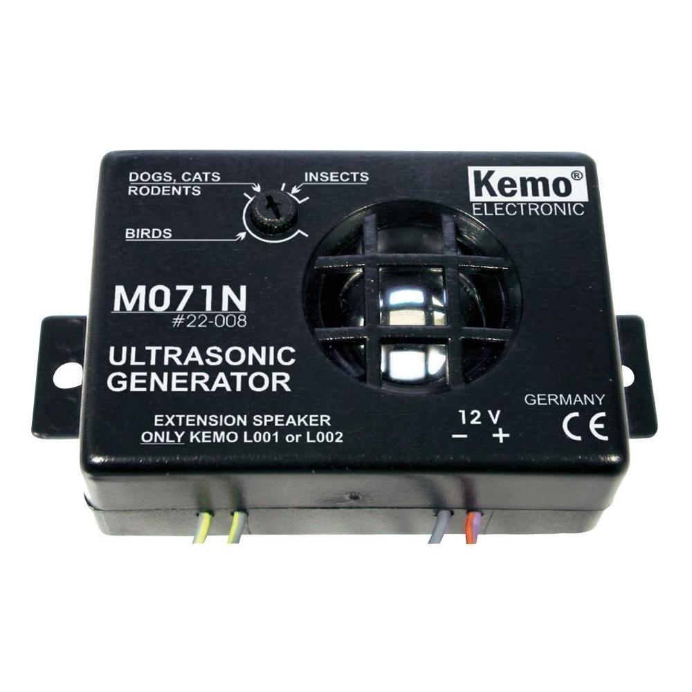 Kemo Electronic M071n Ultrasonic Noise Generator Vermin Products Generators Circuit Repeller Camera Photo