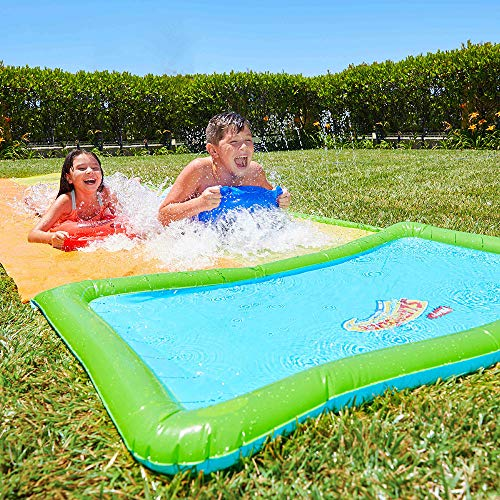Wham-O Slip 'N Slide Hydroplane Double XL Water Toy | Extra-Long Inflatable Summer Water Slide | Summer Fun for Kids