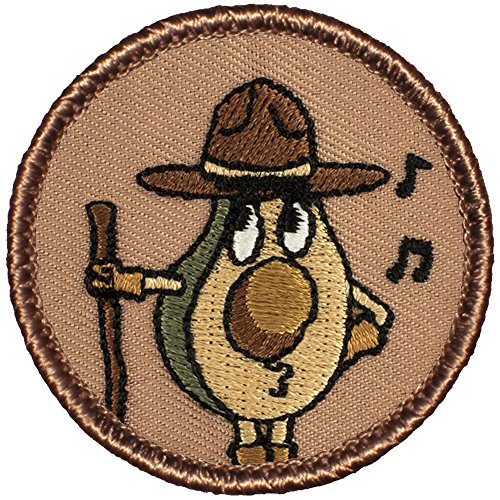 The Avocado Scout Patrol Patch - 2