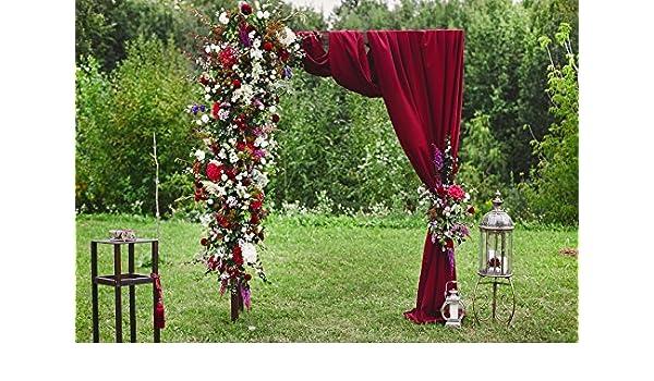 Amazon Com Baocicco 8x6 5ft Outside Wedding Ceremony Background