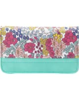 Buxton Ditsy Floral Pik-Me-Up Snap Card Case