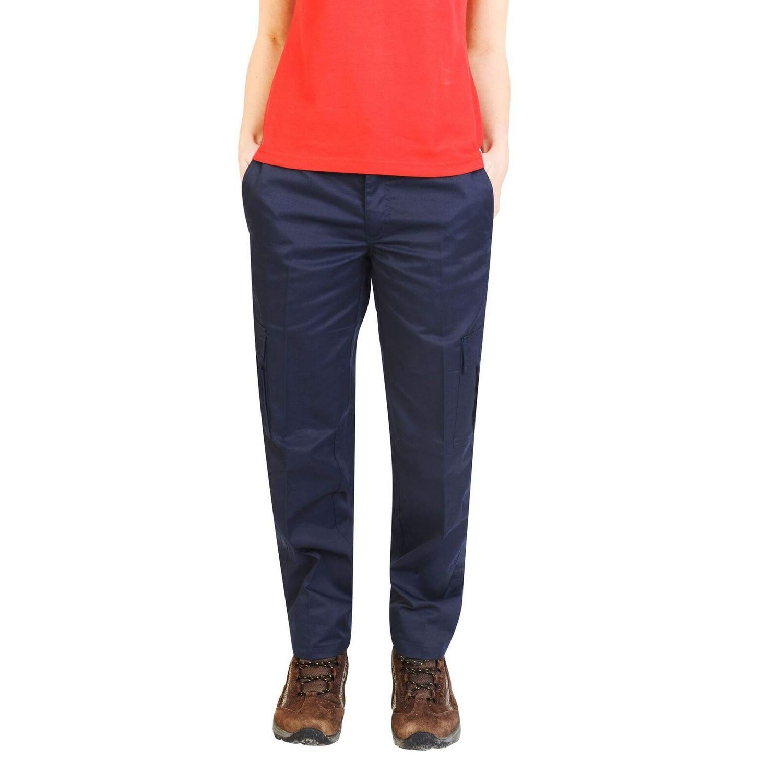 Absolute Apparel - Pantalones de Trabajo Estilo Cargo para Mujer