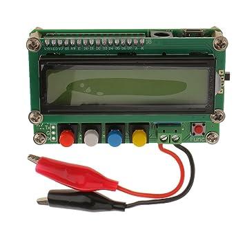 Probador de L / C Capacitancia Inductancia Digital LC100-A LCD de Alta Precisión: Amazon.es: Electrónica