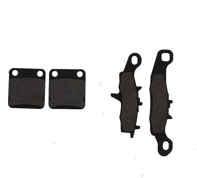 Caltric Front Brake Pads for Kawasaki KX100 KX 100 1997-2020 43082-1196