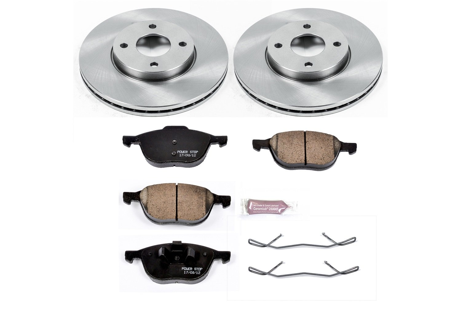 Autospecialty KOE1377 1-Click OE Replacement Brake Kit