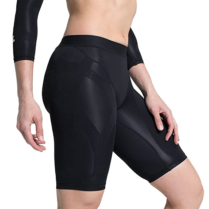 Enerskin E75 Women s FDA Approved Graduated Medical Grade mmHg Compression  Shorts with Kinesiology Muscle Mapping ( 2a11e7d163