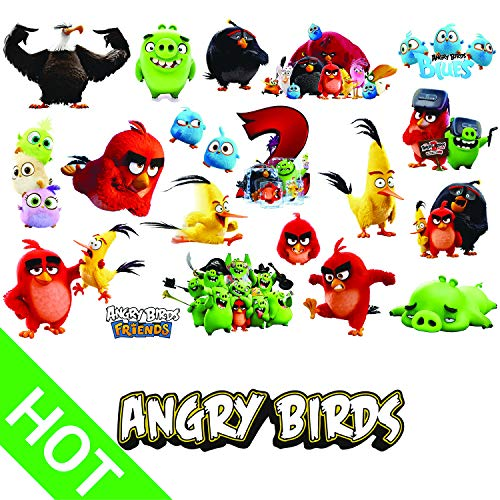 H2 Studio Decal Stickers Pack of Angry