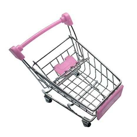 Amazon.com: Yaochen - Mini supermercado carrito de mano ...