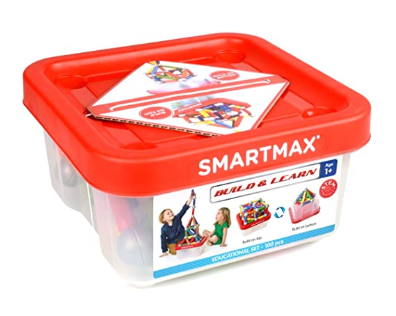 Smart Games SMX 908 Build & Learn 100 pièces Multicolore: Amazon.fr: Jeux et Jouets