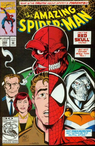 The Amazing Spider-Man #366 Only the Red Skull Knows...