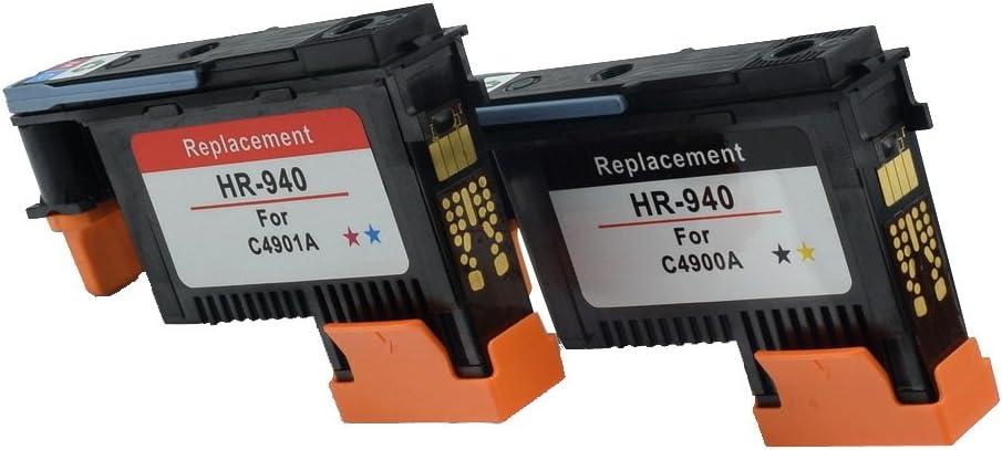 Komada HP940(1BK/Y+1C/M) Printhead C4900A C4901A Compatible for HP Officejet Pro 8000 8500 8500A 8500A Plus 8500A Premium
