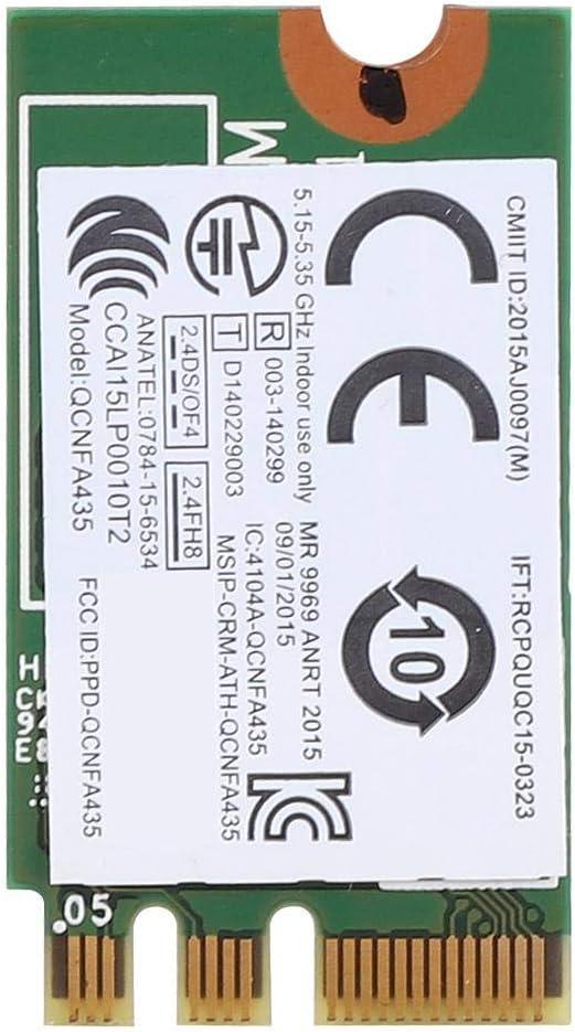 5G NGFF//M.2 Adaptateur bi-Bande Bluetooth sans Fil QCNFA435 01AX709 Carte dorigine pour Lenovo IdeaPad Annjom Adaptateur 2.4G