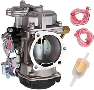 883 Carburetor Replace 27421-99C 27421-99A 27490-04 27465-04 for Harley Davidson Sportster 40mm CV 40 XL883 Carb by TOPEMAI