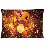 New Arrival Pokemon Charmander Custom Rectangle Pillow Case 20x30 inch One Side