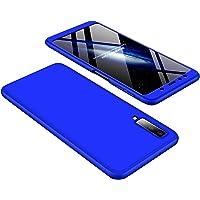 Hishiny Coque Samsung Galaxy A7 2018, Housse Etui Hybride Robuste 3 en 1 Antichoc Coussin d'air Mat Anti-Rayures Dur PC Bumper Case Cover Coque pour Galaxy A7 2018 A750