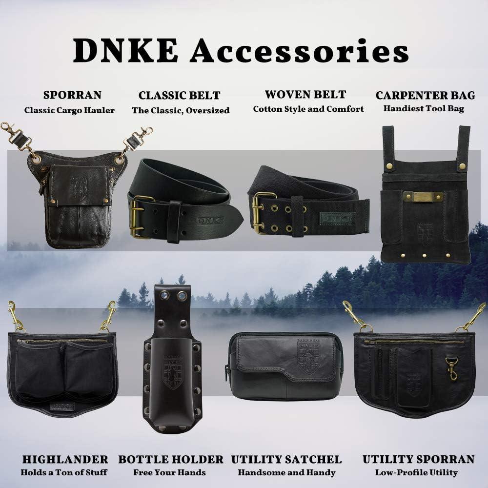 B075FZC459 Damn Near Kilt \'Em Premium Leather Sporran Kilt Accessory 81LwUgCFkNL