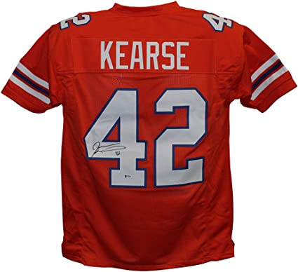 Amazon.com: Jevon Kearse Autographed/Signed Florida Orange XL ...