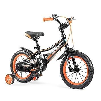 Bicyclehx Ligera Bicicleta de Marco de magnesio para Niños y Niñas, Bicicleta para Niños con Ruedas de Entrenamiento de magnesio: Amazon.es: Deportes y aire ...