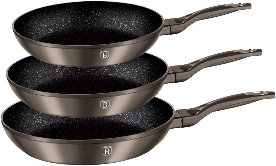 Forest Line Berlinger Haus 13 Piece Marble Coated Cookware Set