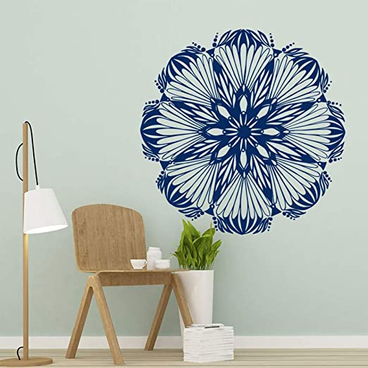 Mandala pegatinas de pared estilo de arte decoración del hogar ...