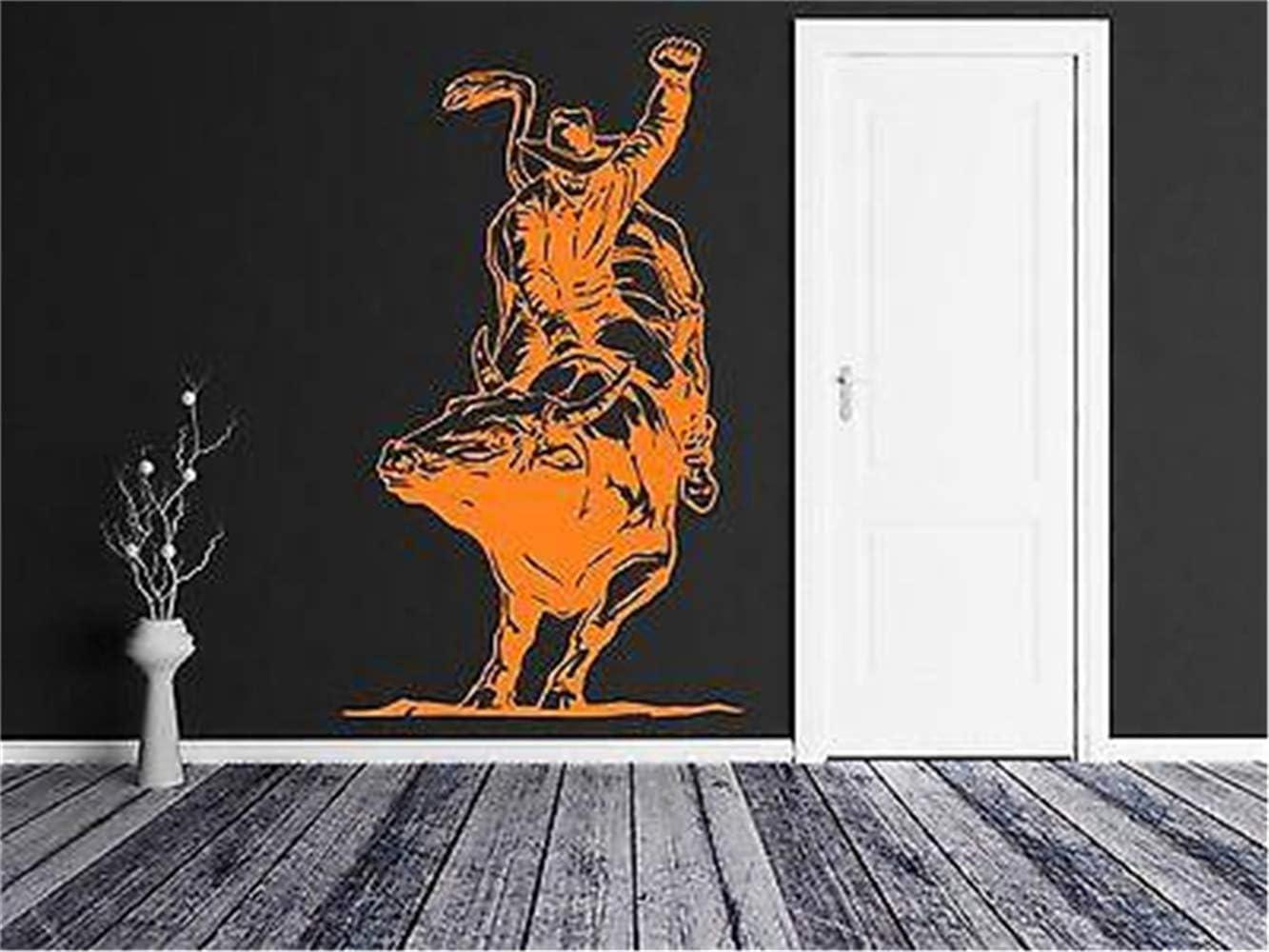 pegatinas de pared y murales Toro taurino de españa vaquero: Amazon.es: Bricolaje y herramientas